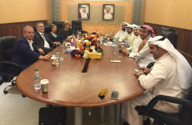 Meeting in Kuwait Rusprodexport
