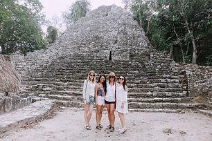 Ruins with Tulum Travel Team.JPG