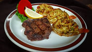 Crab Stuffed Butterfly Shrimp Steak 16-9