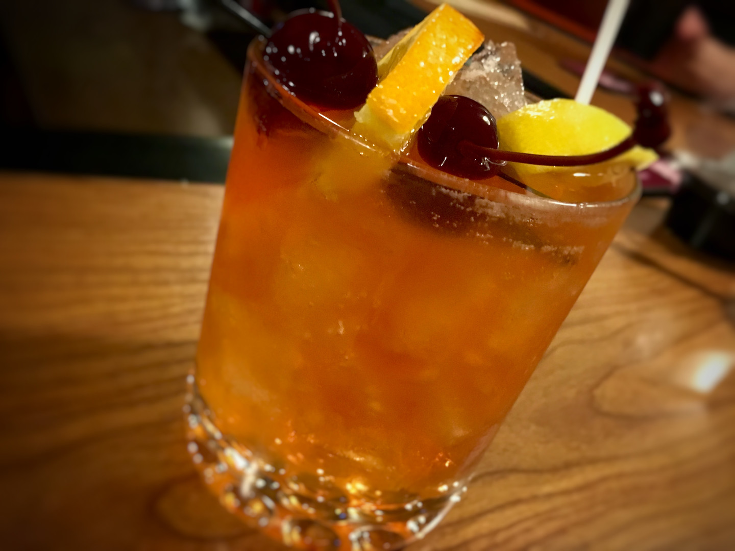 Classic Brandy Old Fashioned