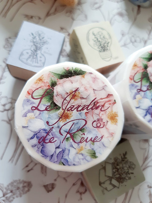 Le Jardin de Reves-  Washi Tape - Loi Design