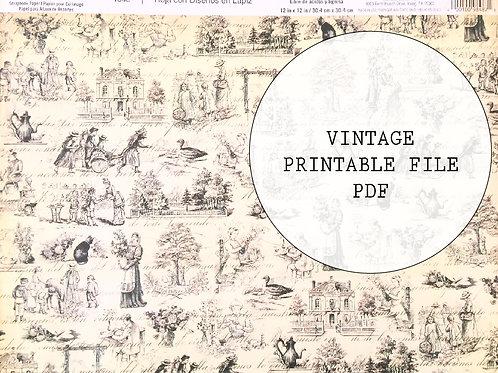 Vintage image - Vintage ephemera
