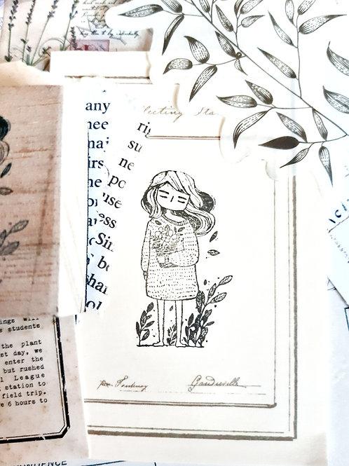 Rubber Stamp - Original Black Milk Project - Emma