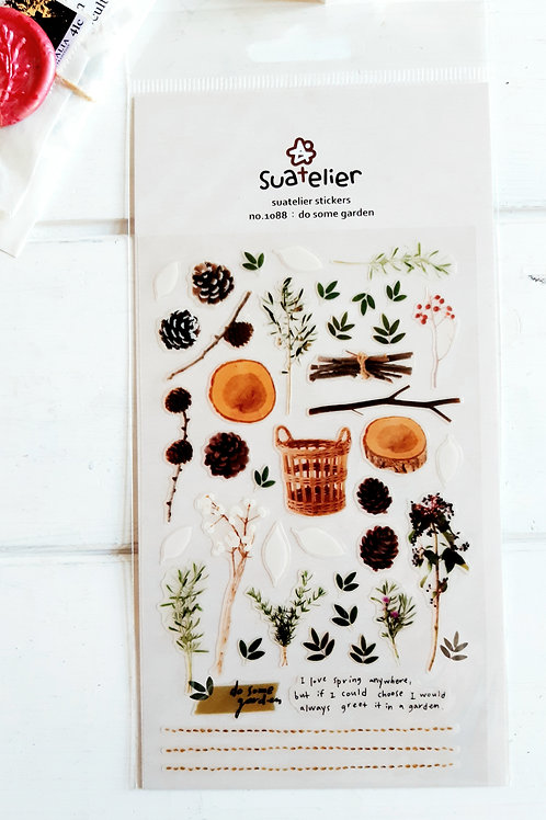 Suatelier - Autumn garden