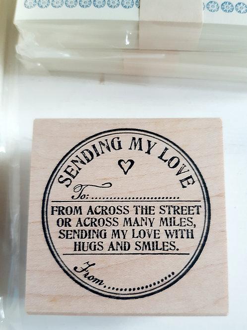 """Catslife Press """"Sending Love"""""""