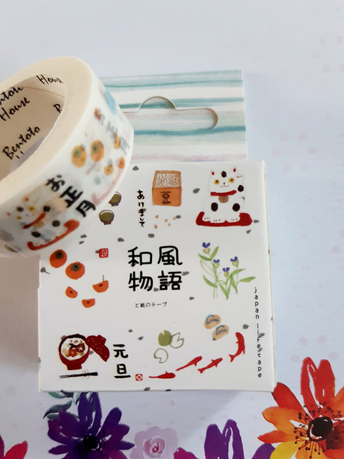 Cute Japanese icons washi tape