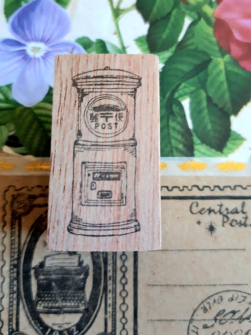 Rubber Stamp - Original Black Milk Project - Japan Post Box