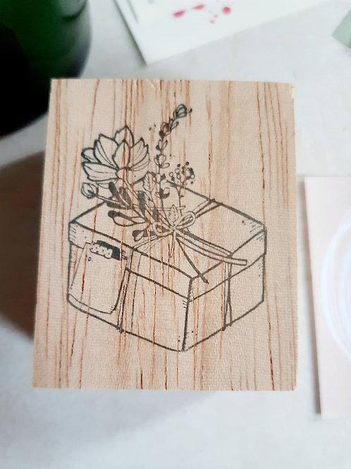 Rubber Stamp - Original Black Milk Project - Love Gift