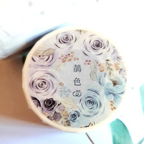 BLUE PURPLE ROSES - Loi-Design
