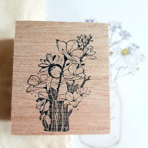 Sakura Fairy Rubber Stamp - Original Black Milk Project