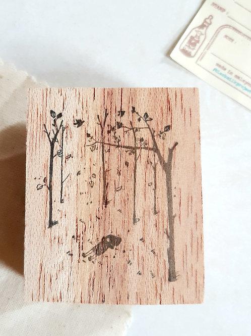 Rubber Stamp - Original Black Milk Project - Autumn