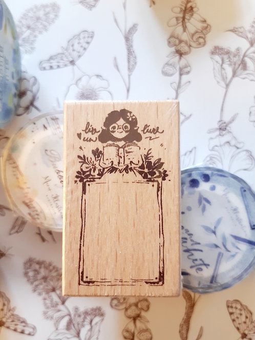 Journal -  Rubber Stamp - Meow Illustrations