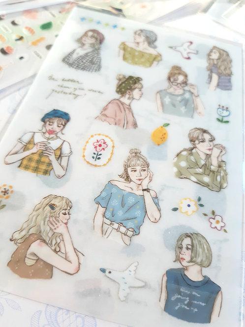 Pion: Print-On Stickers