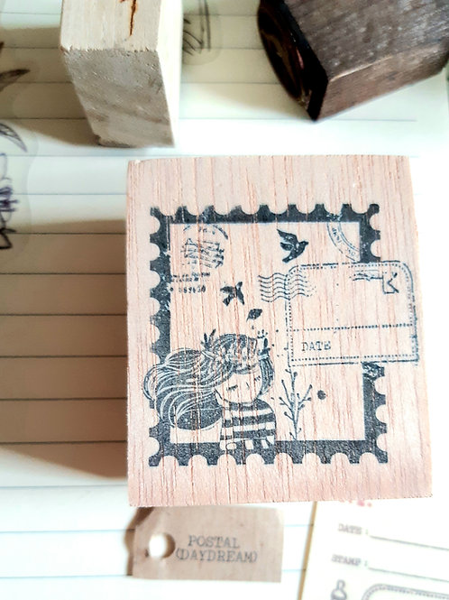 Rubber Stamp - Original Black Milk Project - Postal Daydream