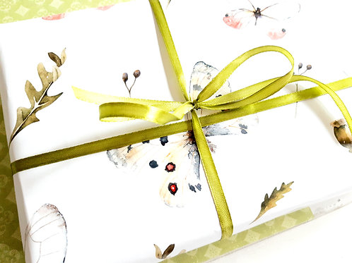 Spring wrapping paper, Gift wrap