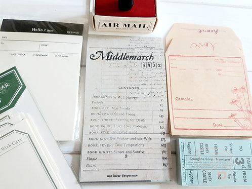 Vintage Stationery Set