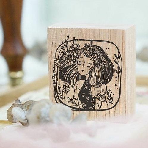 Rubber Stamp - Original Black Milk Project - Marigold