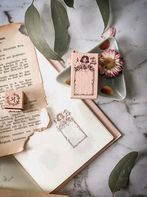 Diary -  Rubber Stamp - Meow Illustrations
