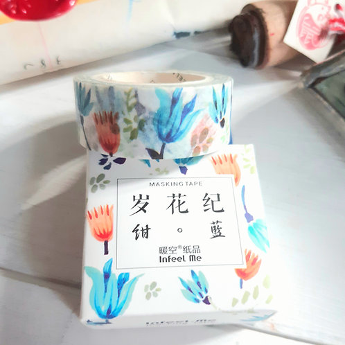 Beautiful flowers Washi Tape - masking tape