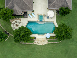 Residential Real Estate Aerial Photograp
