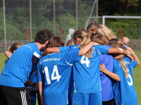Erstes Heimspiel – erster Heimsieg für U12-Mädels im Wackerkessel