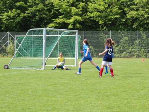 U12 gewinnt in nervenaufreibendem Spiel knapp gegen den FC Ottobrunn