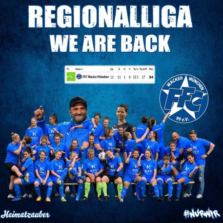 Regionalliga WE ARE BACK!