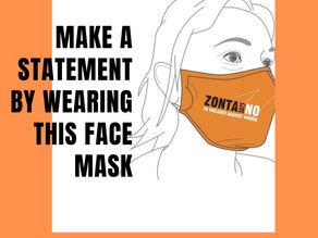 Make a statement, wear this mask
