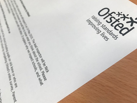 My first Ofsted experience