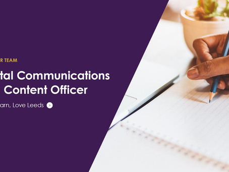 Digital Communications and Content Officer