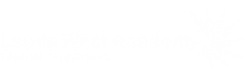 Leeds West Academy white logo