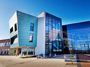 Leeds West Academy side view of building image