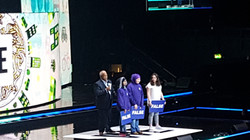 On the WE Day Stage