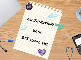 AN INTERVIEW WITH BTS RADIO UK - CHARLIE & HOLLY