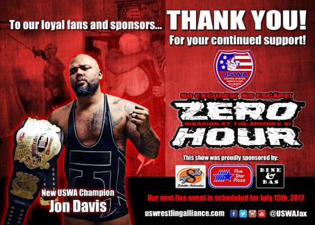 Zero Hour Results! Davis Wins, Dagon Leaves.