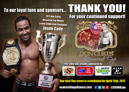 Don Curtis Memorial Cup Results! Cade wins BIG!