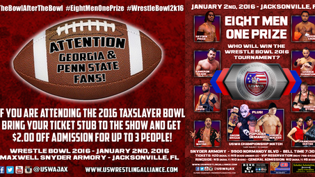 The Bowl after the Bowl: Discount admission with Tax Slayer bowl ticket stub!