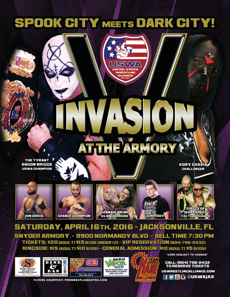 The USWA Invasion is at hand!
