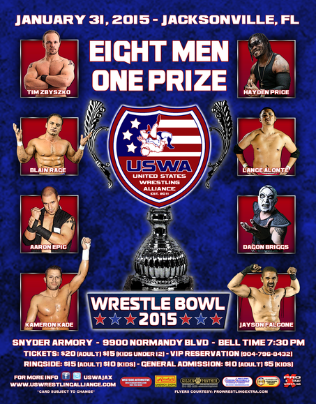 Wrestle Bowl 2015: A Look at the Competitors