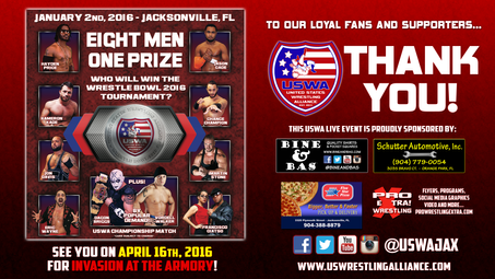 Wrestle Bowl 2016 results!