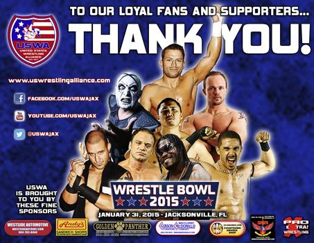 USWA: Wrestle Bowl 2015 Results!