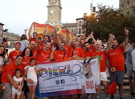 Participación de AD Cierzo proLGTB+ en la manifestación del Orgullo 2019