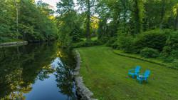 drone river 47 Davis Hill Road, Weston CT-23