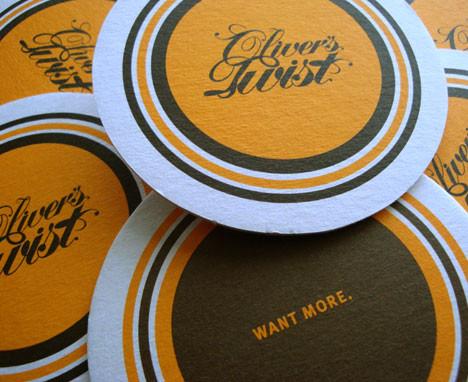 Oliver's Twist coasters
