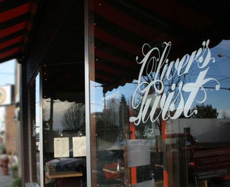 Oliver's Twist storefront