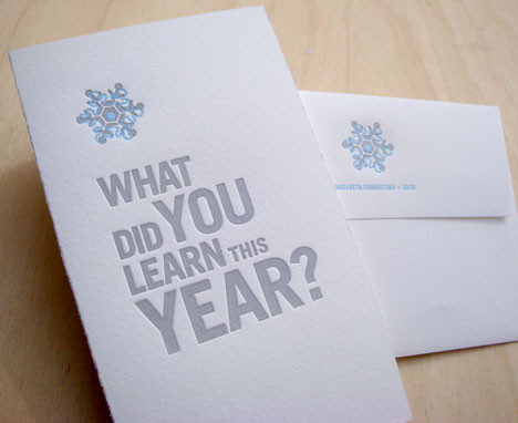 Lancelotta Consulting holiday card