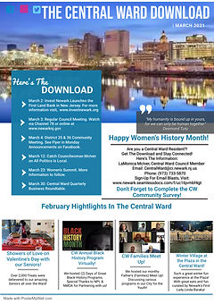 Copy of Business Newsletter Template - M
