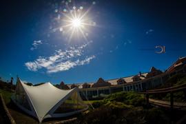 Blue Bay Lodge, Saldanha Bay, Small intimate tented reception.