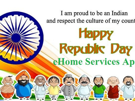 Republic Day 2021 eHome Services App