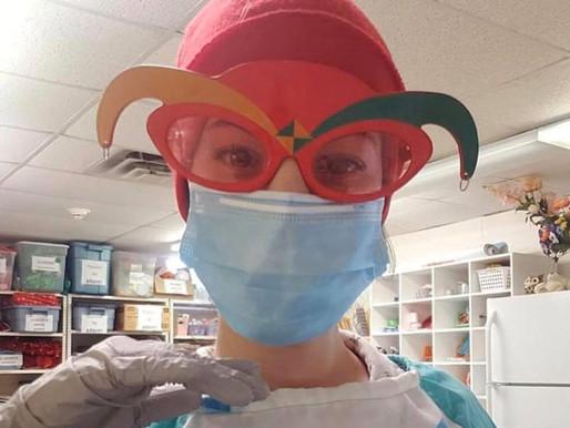 Coronavirus : récit de Meriem Cherouati; technicienne d'intervention en loisir au front.